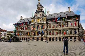 Ayuntamiento de Amberes, Antwerp, Antwerpen, Anvers, Bélgica