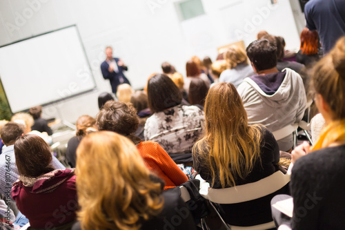 Audience in the lecture hall. - 80764667