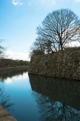 姫路城の堀