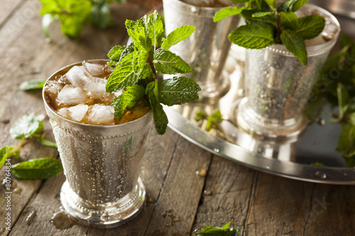 Fototapeta Refreshing Cold Mint Julep