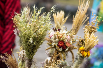 Traditional dried bouquets (Lithuania)