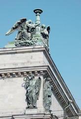 Sculpture on Saint Isaac Cathedral, St. Petersburg, Russia