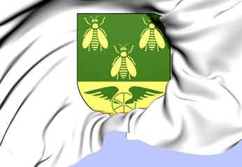 Alvesta Coat of Arms, Sweden.