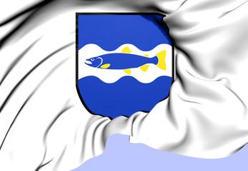 Alvkarleby Coat of Arms, Sweden.