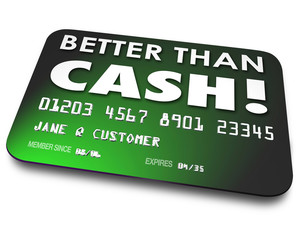 Better Than Cash Credit Debit Gift Card Easy Convenience Shoppin