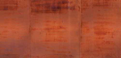 Rusting metal gate texture