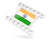 Movie icon with flag of india