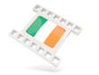 Movie icon with flag of ireland