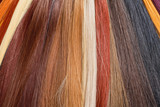 Fototapety Artificial Hair Used for Production of Wigs