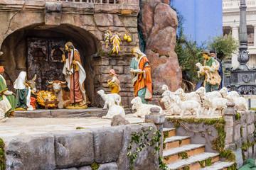 Nativity scene in Italy