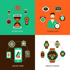 Clock Design Concept Set
