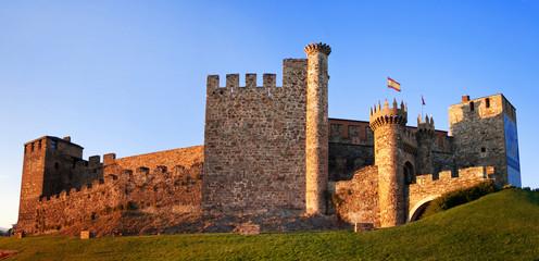 Templarium castle, Ponferrada, Santiago Road, Spain