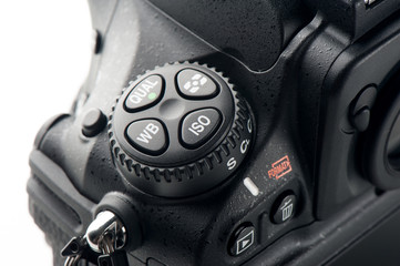 detail of camera