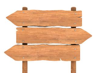 wooden index