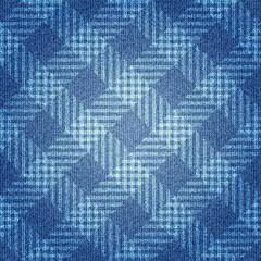 Texture of denim fabric.