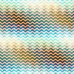 Waves pattern with a gradient.
