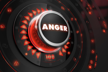 Anger Controller on Black Console.