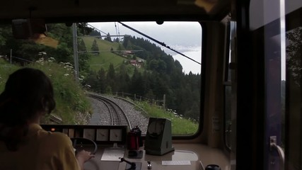 Mountain Train Inside