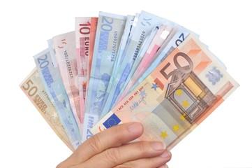 De l'argent en main