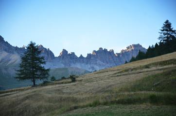 Prairie au dessus de Soulier