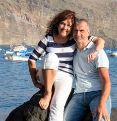 Glückliches Paar in den besten Jahren :)