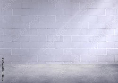 Room Corner Wallpaper Concrete Room Corner Shadow