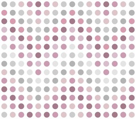 Seamless dotted chevron pattern in pink and grey