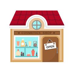 cosmetics stores vector