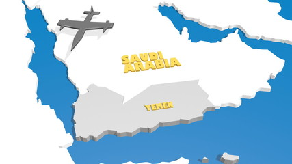saudi arabia air force assault on yemen
