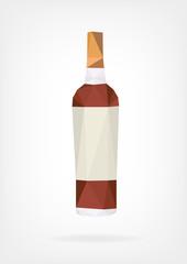 Low Poly Liquor Bottle