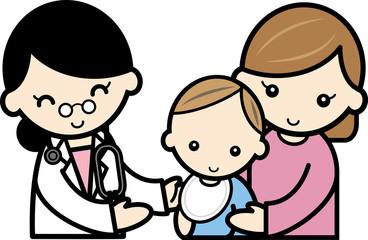 赤ちゃんの検診