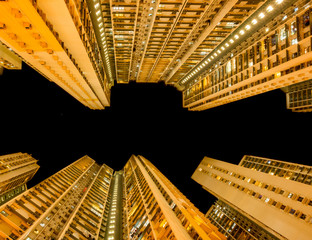 Overcrowded Apartment in Hong Kong