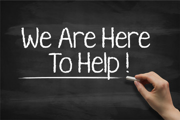 We are here to help 3103