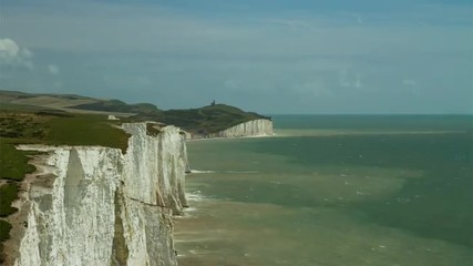 HD time lapse, 7 Sisters, Sussex, England.