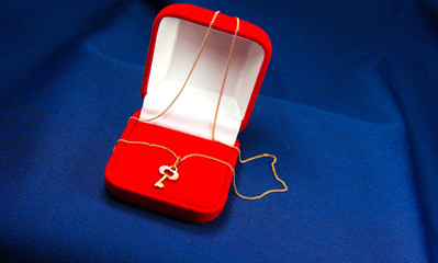 pendant in the red box
