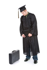Graduation: Male Graduate Now Has To Find A Job