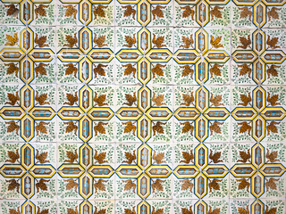 Traditional Portuguese Tiles Background