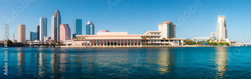 Foto Spatwand Verenigde Staten Tampa Skyline