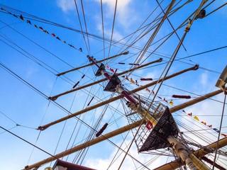 tall ship's mast
