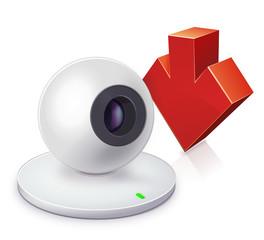 Webcam and decrease