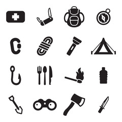 Survival Kit Icons