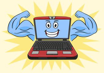 Powerful laptop.