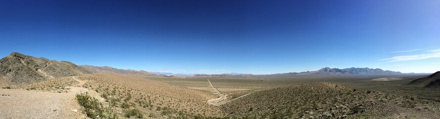 California desert Valley