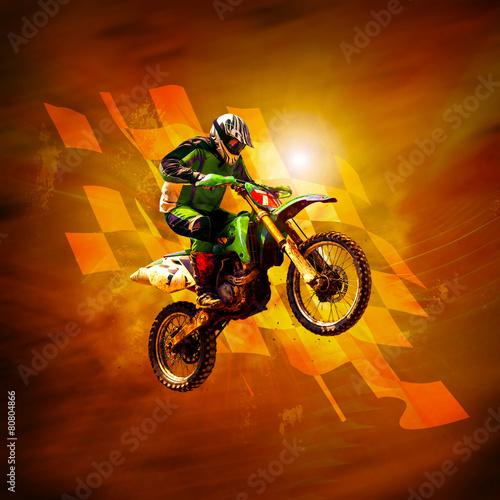 Foto op Aluminium Motorsport motocross