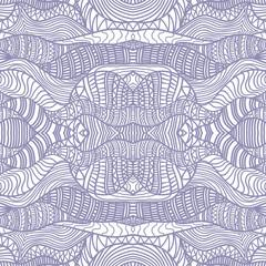 Hand drawn seamless pattern