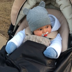 baby at hat