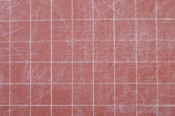 Red scholastic board