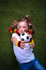 german soccer child