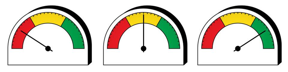 Indicatore analogico/tester