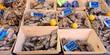 Des huîtres à la vente en poissonnerie - 80809839